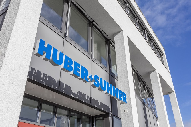 HUBER+SUHNER: A major project coming to an end and a weaker railway market in China result, as expected, in a lower business volume after nine months