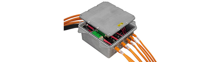 HUBER+SUHNER unveils the most versatile high voltage distribution solution for electric vehicles