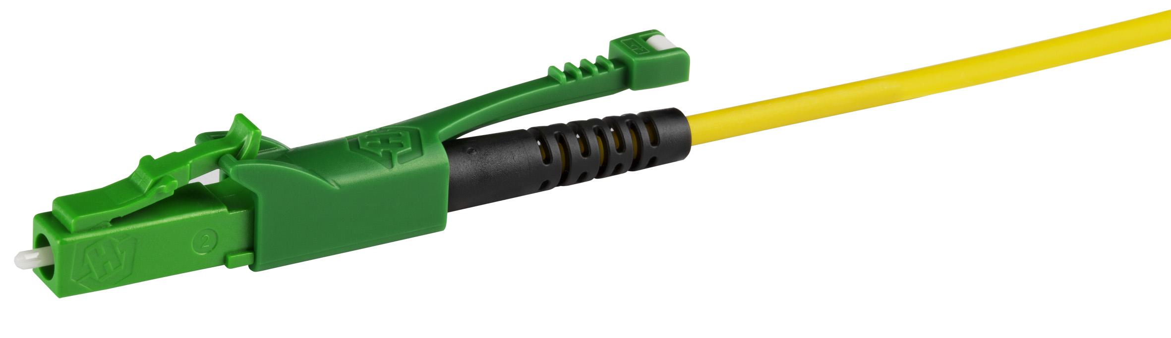 Der neue LC-XD Verbinder maximiert die Faserdichte und verbessert das Handling