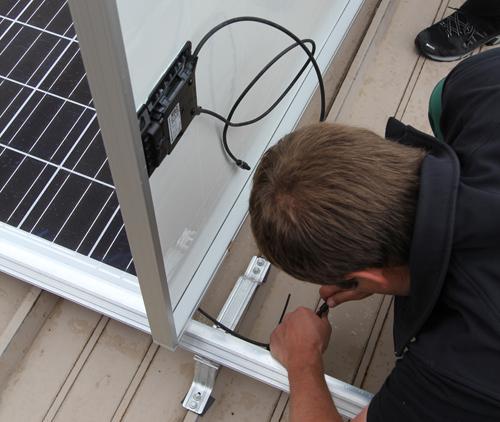 Erfolgreiche Testinstallation des RADOX® Solar Blue-Safety Systems