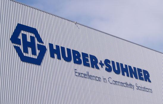 HUBER+SUHNER has recorded a slight increase in net sales and considerably improved its income position