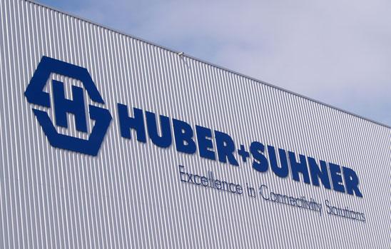 HUBER+SUHNER mit leicht mehr Umsatz und deutlich mehr Ertrag
