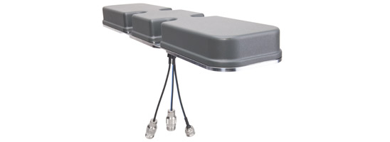 HUBER+SUHNER provides a low profile MIMO roof-top antenna for easy upgrade to 4G/LTE