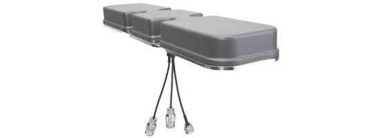 HUBER+SUHNER lanciert eine besonders flache MIMO Zugdachantenne für einfache Aufrüstung auf 4G/LTE