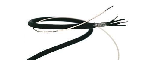 HUBER+SUHNER präsentiert neue dünnwandige Signalkabel