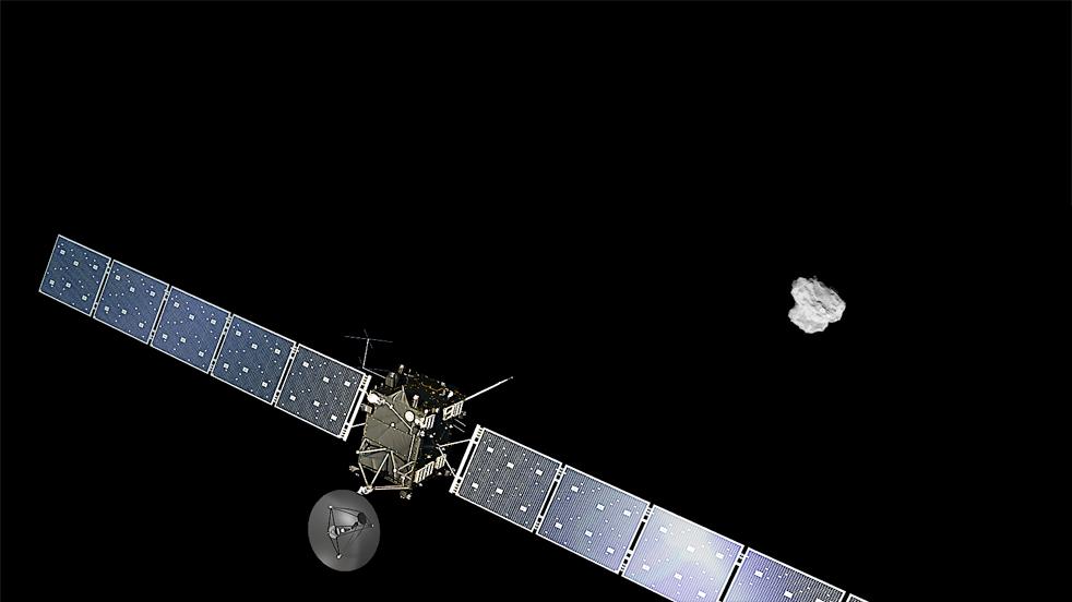 Landung auf Kometenoberfläche geglückt