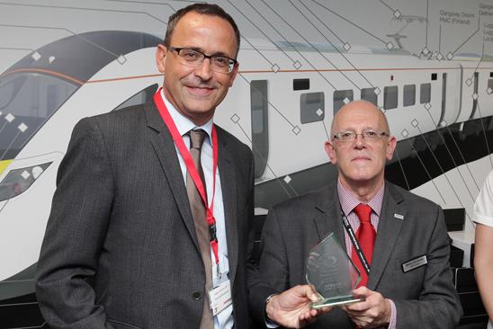 HUBER+SUHNER mit Hitachi Key Supplier Award ausgezeichnet