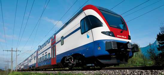 SBB Machbarkeitsstudie bestätigt Eignung der HUBER+SUHNER Komponenten für Gigabit-Netzwerke in Zügen