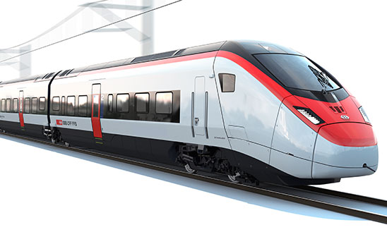HUBER+SUHNER lightens the load for Swiss rail operator
