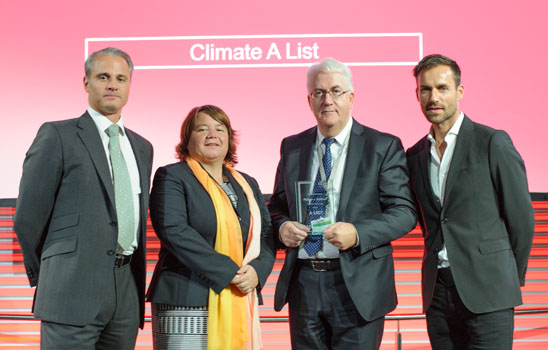 HUBER+SUHNER: Award for sustainable commitment to the environment