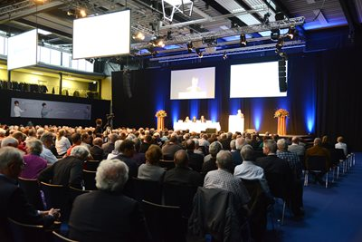 Annual General Meeting, 5 April 2017, Pfäffikon, Switzerland