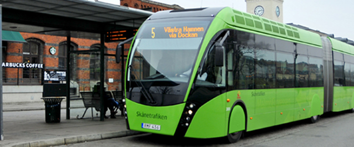HUBER+SUHNER and Van Hool: Keeping cities moving