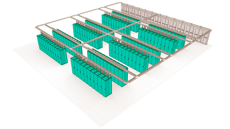 Commercial data center