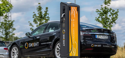 SENCITY Omni-S at the SMIGHT charging station