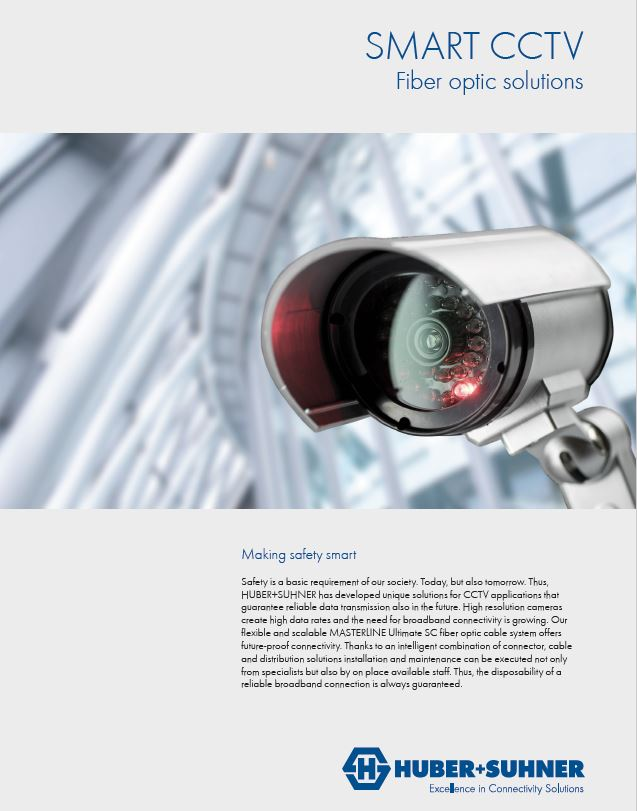 CCTV networks with small cell solution