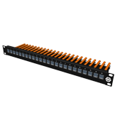 1U high density patch panel premium, straight