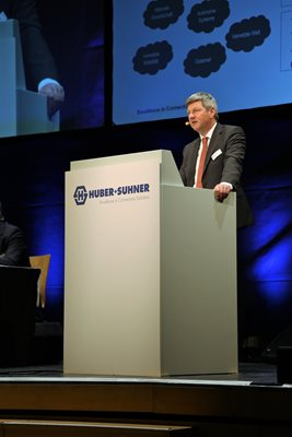 Urs Ryffel, CEO, Annual General Meeting 2018