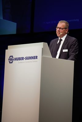 Urs Kaufmann, Chairman of the Board of Directors, Annual General Meeting 2018
