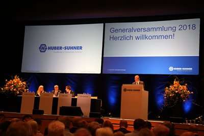 Annual General Meeting, 11 April 2018, Gossau (SG), Switzerland