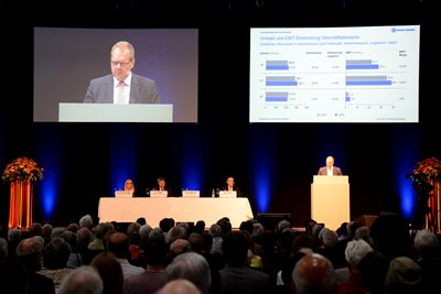 Urs Kaufmann, Chairman of the Board, Annual General Meeting 2017