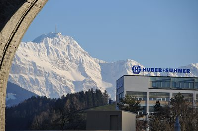 HUBER+SUHNER in Herisau, Switzerland