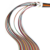 Glass-armoured multi-fiber loose tube cables