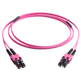 LC push-pull duplex patch cords