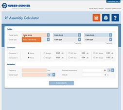 RF assembly calculator