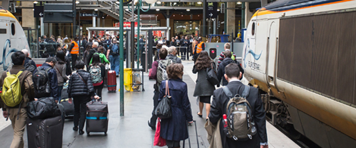 Fiber optic products for France's railway stations