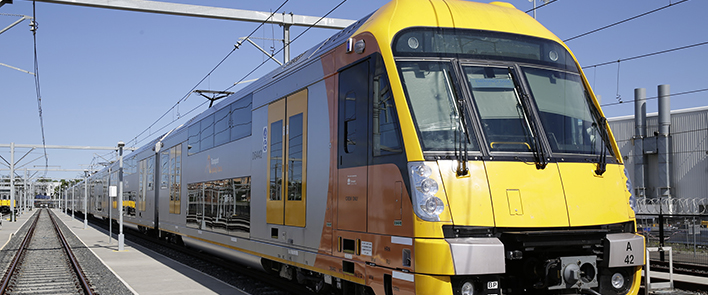 Sydney's Waratah trains feature HUBER+SUHNER connections