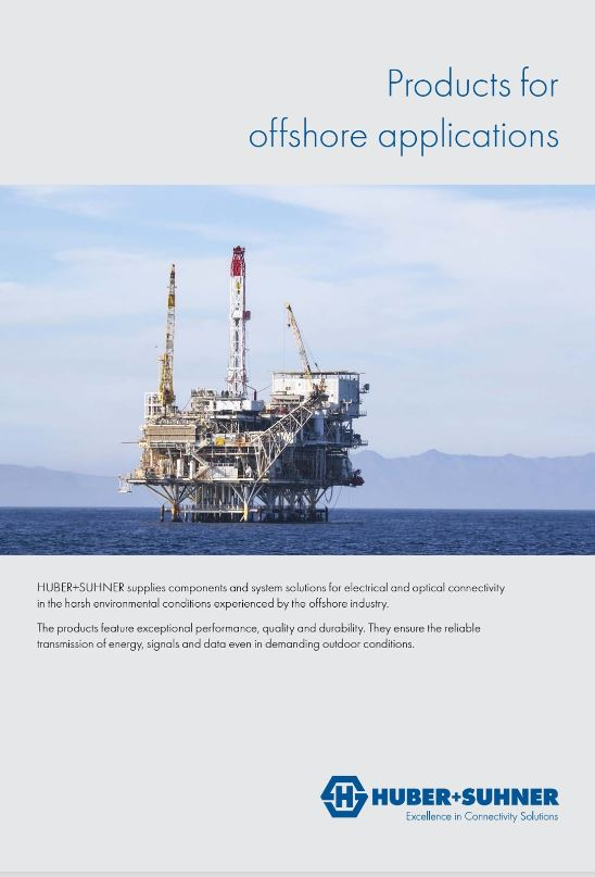 Product portfolio for offshore applications