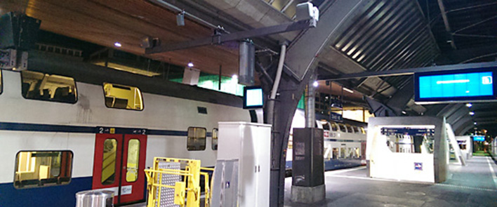 4G/LTE: Cable assemblies for Zurich Central Station